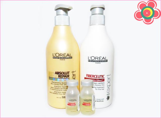 Testei: Fiberceutic L'Oréal Professionnel