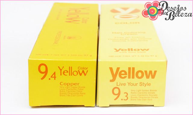 ruiva: yellow 9.4 e 9.3