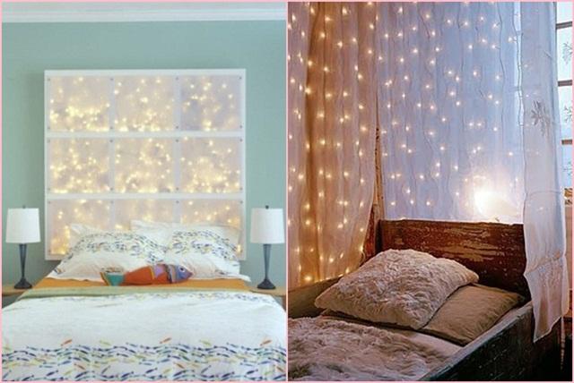 decoração: quarto com luzes 7