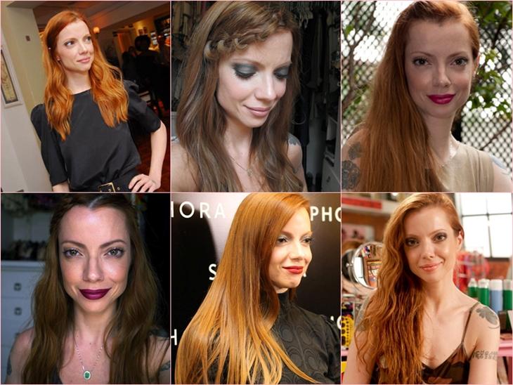 cabelo ruivo perfeito - julia petit
