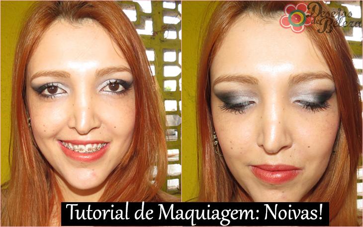tutorial (passo a passo) de maquiagem - noivas