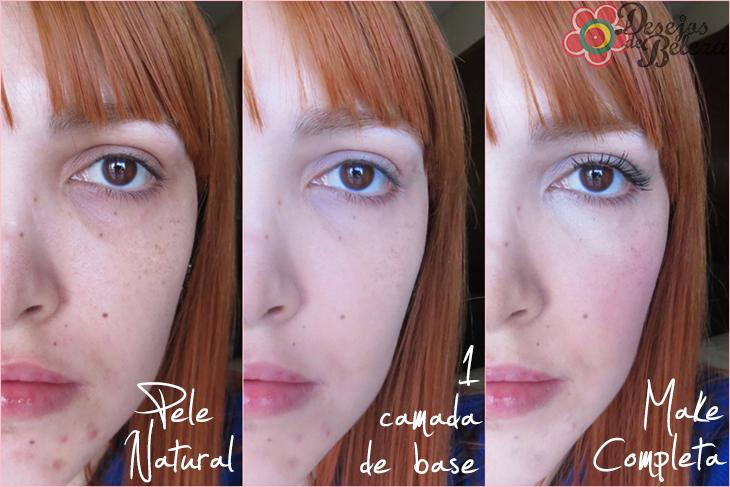 anti-blemish solutions base líquida clinique antes e depois