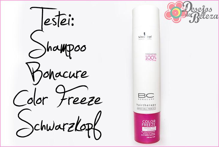 shampoo color freeze bonacure