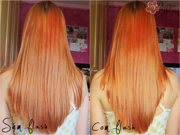 exotic colors laranja fogo - tonalizando o ruivo fotos