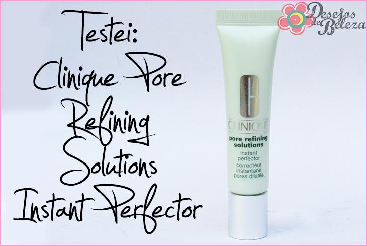 pore refining solutions clinique