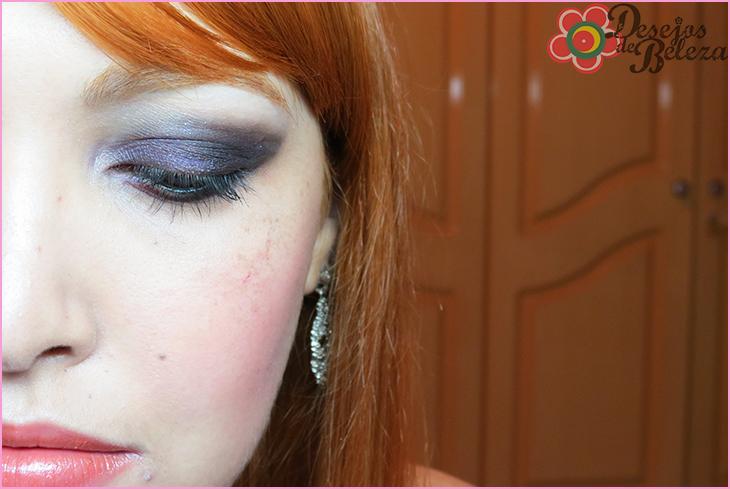 tutorial passo a passo de maquiagem roxo e preto post 2