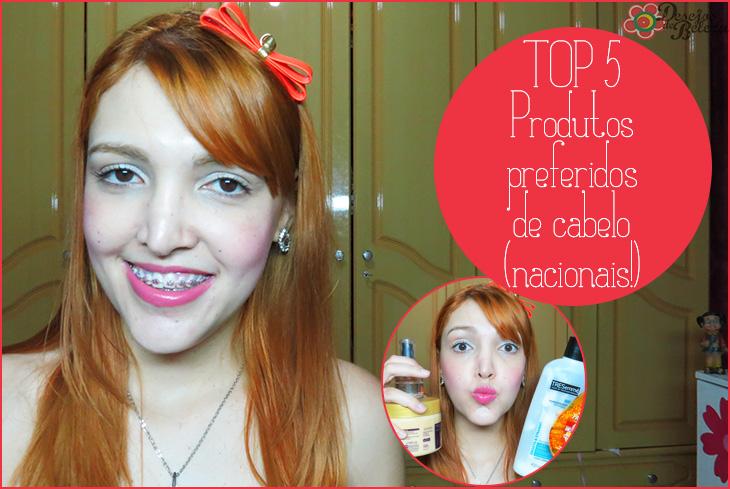 imagem POST  top 5 produtos de cabelos favoritos