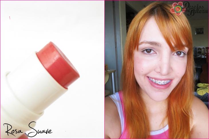 color trend avon - bastão 3 em 1 rosa suave