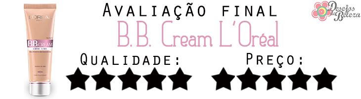 bb cream l'oréal avaliação final