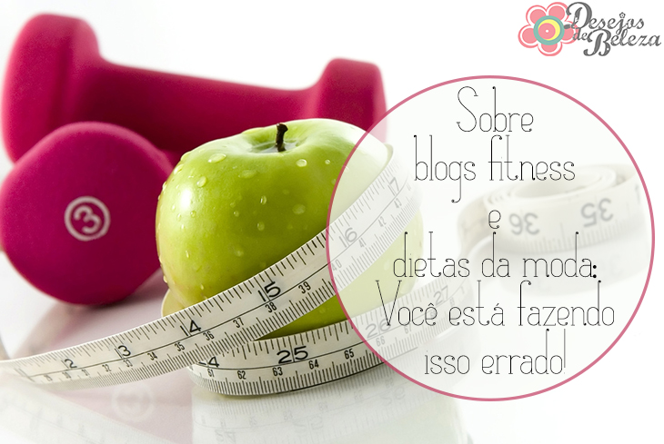 blogs fitness e dietas da moda