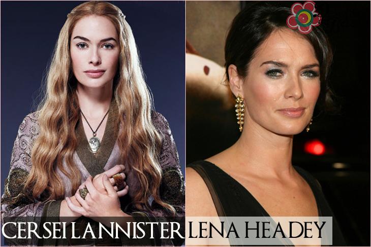 cersei lannister-lena headey - desejos de beleza
