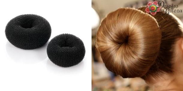 apetrechos para cabelo - donuts - desejos de beleza