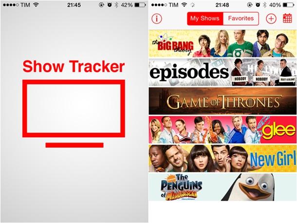 dica de app - show tracker - desejos de beleza