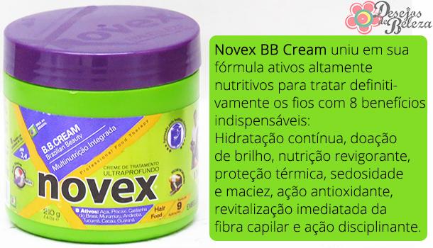 testei bb cream novex - o que a marca diz - desejos de beleza