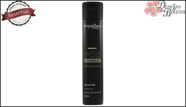 shampoo acquaflora pós coloração - capa - desejos de beleza