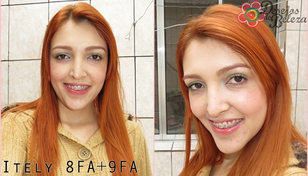cabelo ruivo - itely 8FA e 9FA - desejos de beleza