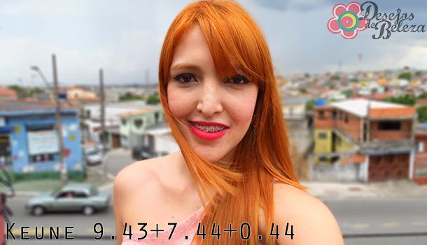 cabelo ruivo - keune 943 744 e 044 2 - desejos de beleza