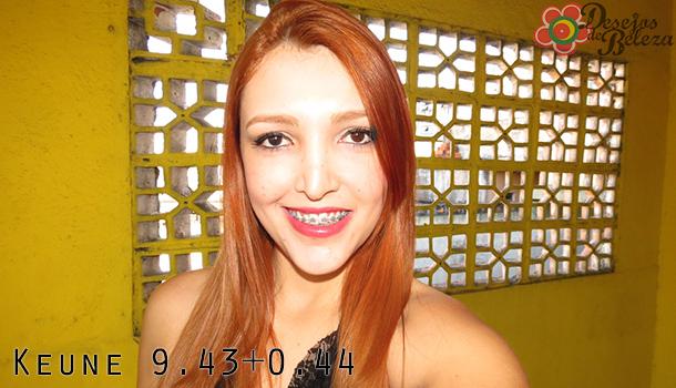 cabelo ruivo - keune 943 e 044 - desejos de beleza
