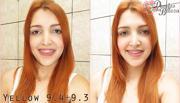 cabelo ruivo - yellow 94 e 93 - desejos de beleza