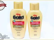 Testei: Niely Gold Queratina e Óleo de Argan  – Shampoo e Condicionador