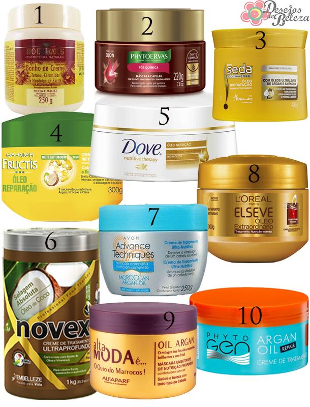 Super 10 máscaras de nutrição que custam menos que vinte reais! WT13