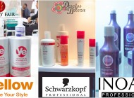 Beauty Fair 2014 – Yellow, Schwarzkopf e Inoar