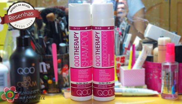 qod therapy shampoo e condicionador - capa - desejos de beleza