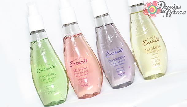 avon encanto spray corporal 2 - desejos de beleza