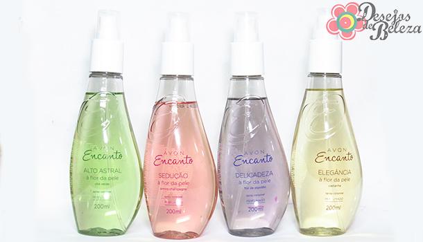 avon encanto spray corporal 3 - desejos de beleza