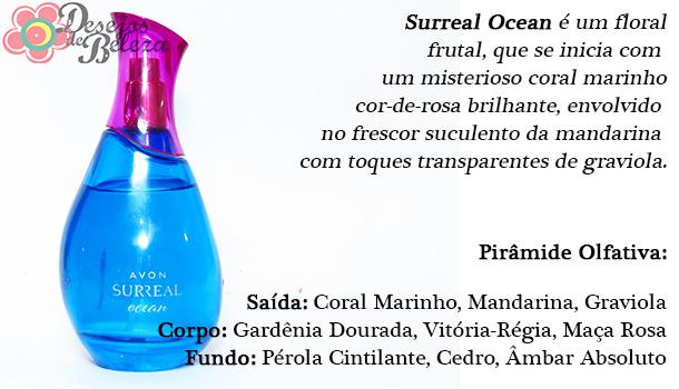 surreal ocean descrição fragrância - desejos de beleza