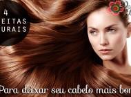 4 receitas naturais para deixar seu cabelo mais bonito!