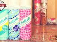 Shampoo seco Batiste – Fragrâncias