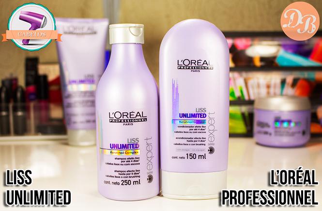 Testei: Liss Unlimited L'Oréal Professionnel - Shampoo e Condicionador - Desejos de Beleza